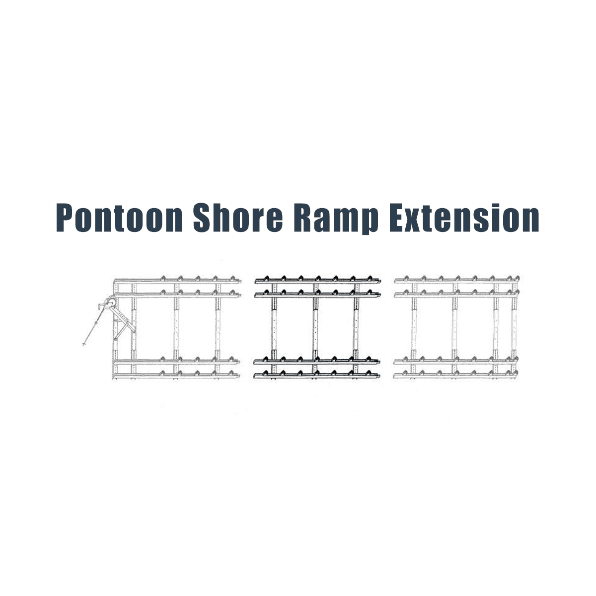 Roll-n-Go Pontoon Ramp Extension